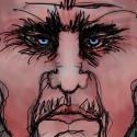 Angry Man, Digital image, print, face, faces