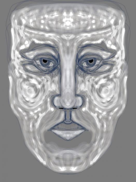 """""""Truncated Man""""      Digital Print   1/10"""